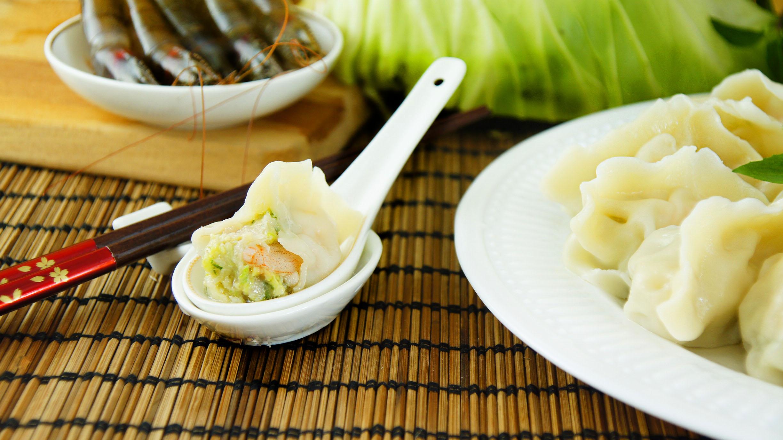 譚媽餃子-特大高麗菜蝦仁水餃(24入) 大顆 好吃 真材實料