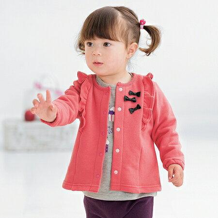 【NISSEN】童裝 針織開襟衫 2色 0