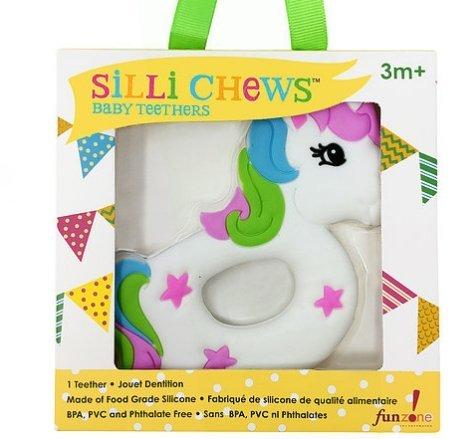 【淘氣寶寶】美國SilliChews獨角獸咬牙器SC-26
