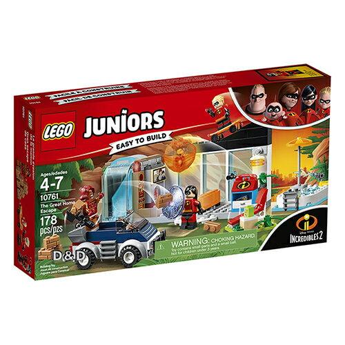樂高LEGO 10761 Junior 初學級系列 - 超人特攻隊2 The Great Home Escape - 限時優惠好康折扣
