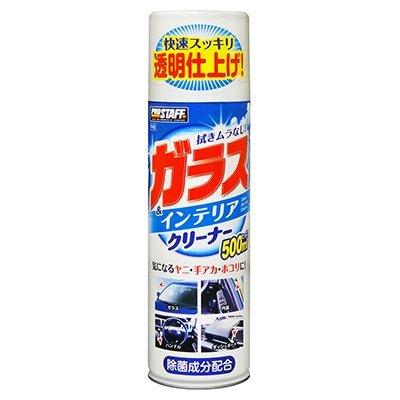 權世界~汽車用品  Prostaff 汽車 玻璃及車內內裝飾板 清潔劑 500ml F~6