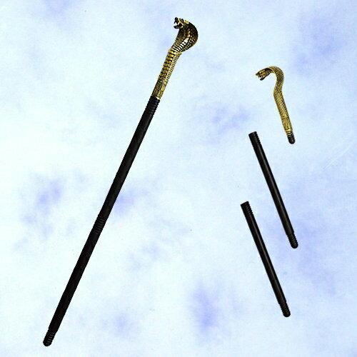 "X射線【W276398】32""組裝式蛇頭權杖,萬聖節服裝/武器道具/派對/角色扮演/化妝舞會/表演/話劇/法器 /魔杖/埃及法老"
