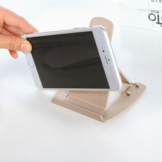 ♚MY COLOR♚ 可折疊調檔手機支架 金字塔形 平板支架 通用型 手機 支架 便攜 懶人 手機座【N412】