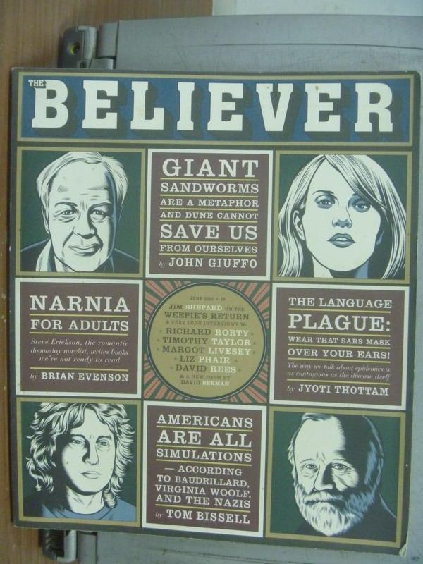 【書寶二手書T6/傳記_PCU】Believer