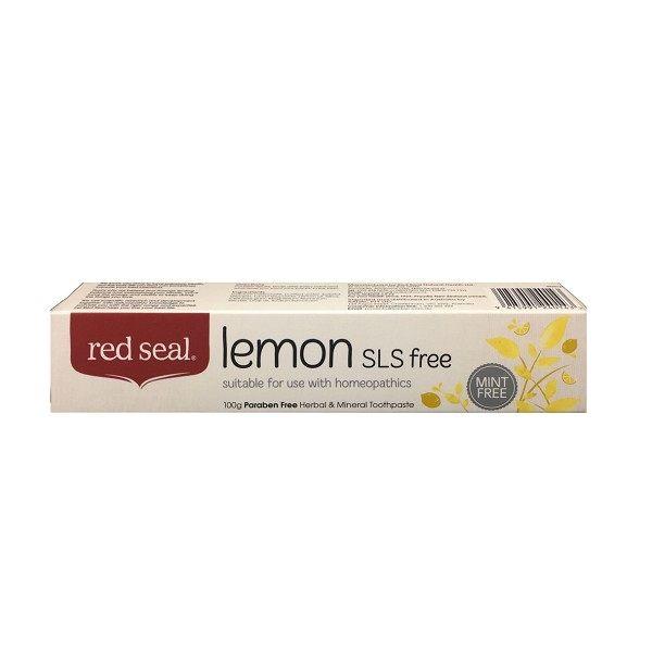 紐西蘭RedSeal清新檸檬牙膏100g條◆德瑞健康家◆