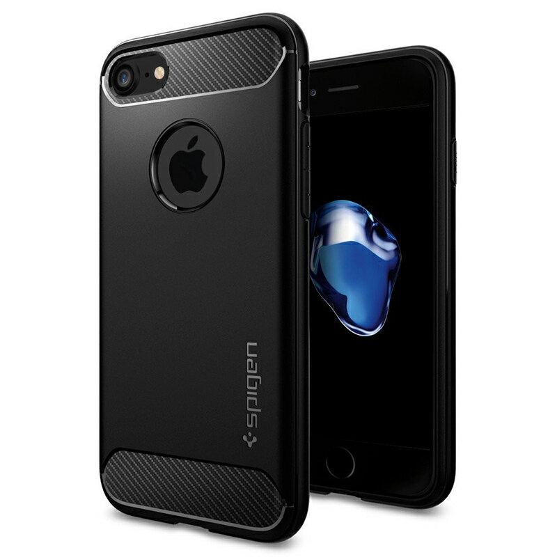 預購Spigen SGP iPhone 7 / Plus Rugged Armor 強化吸震軟式手機殼