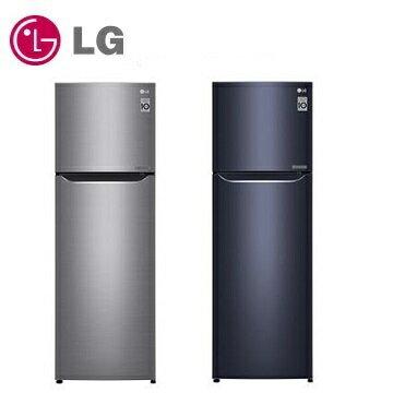 LG  253公升 直驅變頻上下門冰箱 GN-L307SV 星辰銀  /  GN-L307C 星曜藍 - 限時優惠好康折扣