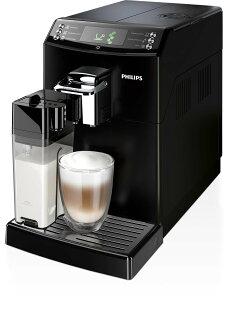 飛利浦4000series全自動義式咖啡機HD8847,送頂級巴西莊園咖啡豆2磅(市價2000元)