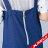 【maru.a】綁帶裝飾魚尾裙襬長洋裝(深藍) 5
