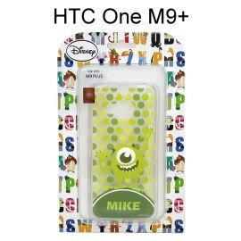 迪士尼透明軟殼 [新點點] 大眼仔 HTC One M9+ (M9 Plus)【Disney正版授權】