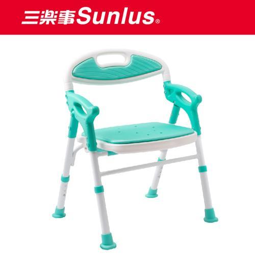 三樂事 摺疊式軟墊洗澡椅【愛買】 0