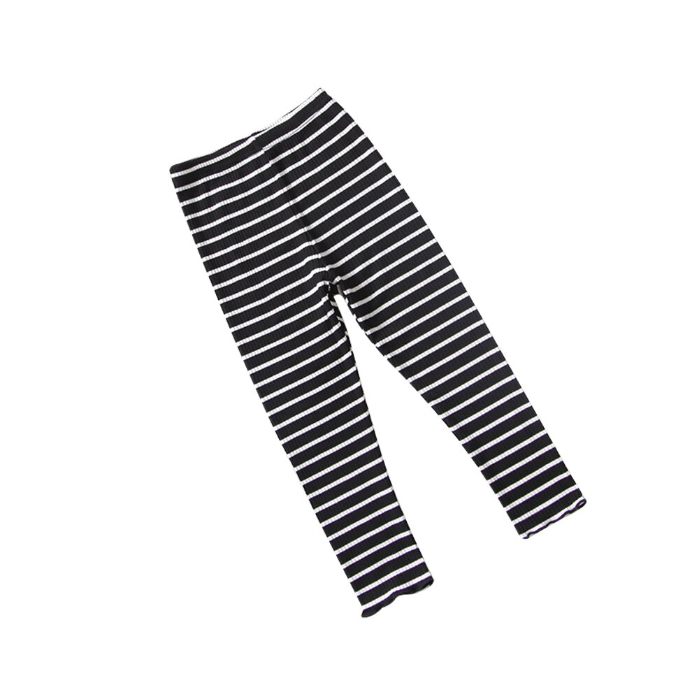 條紋內搭褲 男女童可穿 彈力針織打底褲 88204(好窩生活節) 1