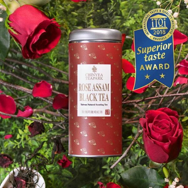 《沁意》玫瑰阿薩姆紅茶(30g罐)