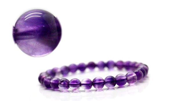 純天然紫水晶手鏈