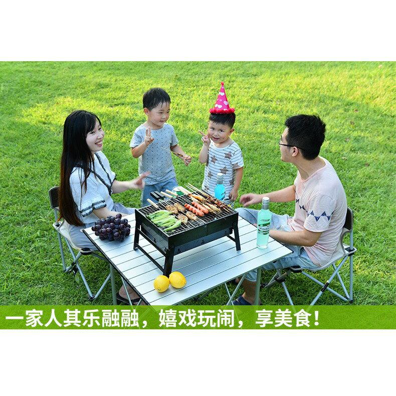 原始人燒烤爐戶外燒烤架家用3人-5人木炭燒烤工具野外碳烤爐全套YTL