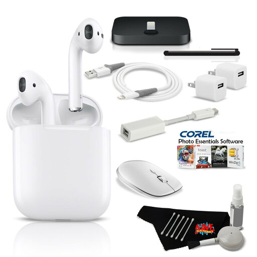 iMac Ultimate Music & Podcast Accessory Bundle w/ AirPods c2463c25ddc936de4cc10a566ac8539d
