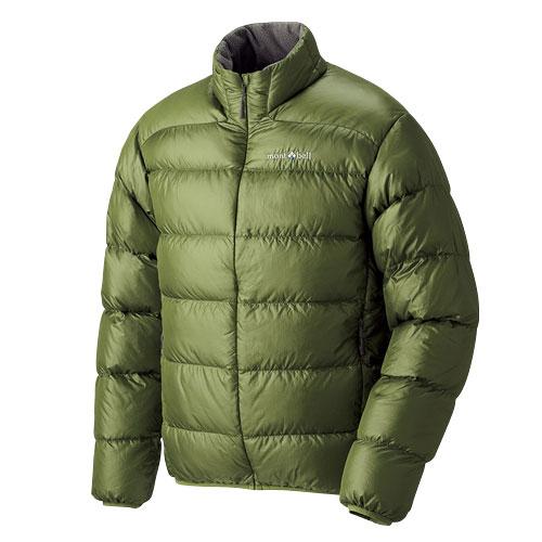 【露營趣】中和 Mont-Bell 1101359 Light Alpine 800FP 高保暖超輕鵝絨 草綠 羽絨外套 羽絨衣 男款