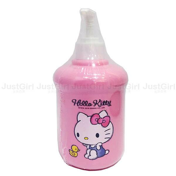 HELLO KITTY 分裝罐 壓瓶 洗手乳罐 沐浴乳罐 約350ml 居家 正版韓國進口 * JustGirl *