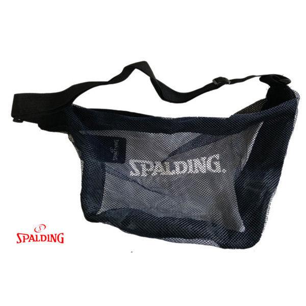 【登瑞體育】SPALDING斯伯丁高級單顆裝籃球網袋 SPB5321N62