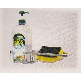 不銹鋼多功能扁框清潔架廚衛兩用30418-8表面光亮