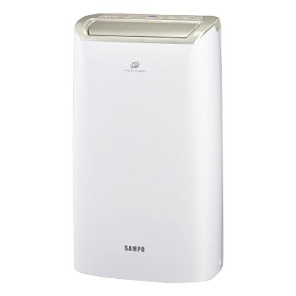 【SAMPO聲寶】10.5公升空氣清淨除濕機AD-W720P【三井3C】