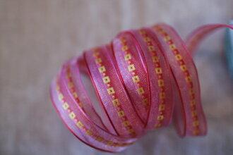 彩織方格網帶+鐵絲 15mm3碼(4色)