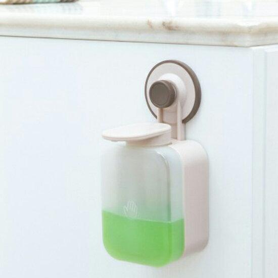 ♚MY COLOR♚免打孔皂液盒 衛生間 真空黏盤 皂液器 浴室 吸盤 洗碗精 壁掛 洗手液 洗髮乳 沐浴乳【P628】