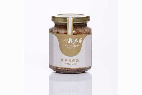 大呷麵本家翡翠香蔥醬250g瓶