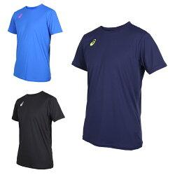ASICS 男排球短袖T恤 (免運 短T 短袖上衣 排球 訓練 亞瑟士【03312977】≡排汗專家≡