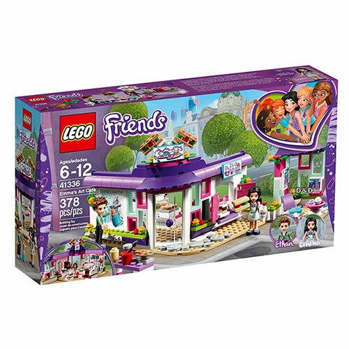 樂高積木 LEGO《 LT41336 》2018年Friends 姊妹淘系列 -艾瑪的藝術咖啡廳