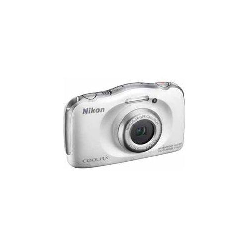Nikon Coolpix S33 Shock & Waterproof Digital Camera (White) 1
