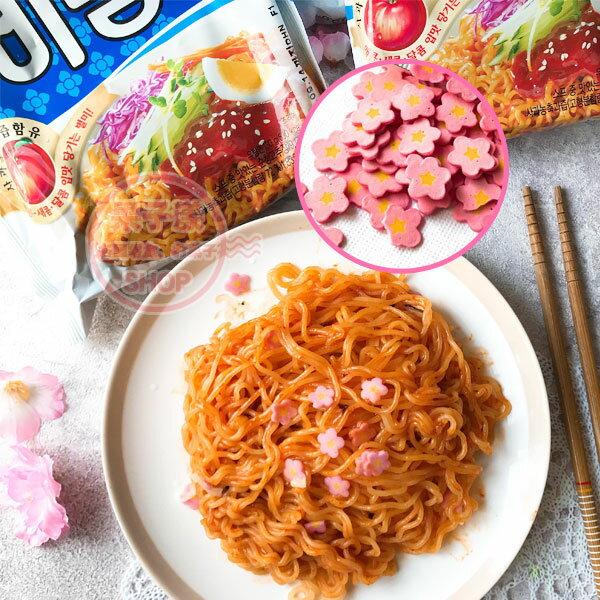 韓國八道辣拌麵冷拌麵(整袋5小包入)附一包櫻花魚板[KR456A]夏日涼麵泡麵