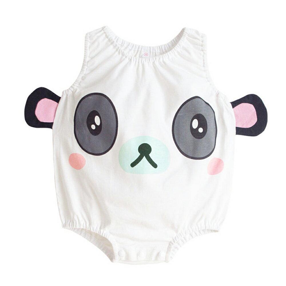 Augelute Baby 可愛動物款 無袖連身衣 41271 3