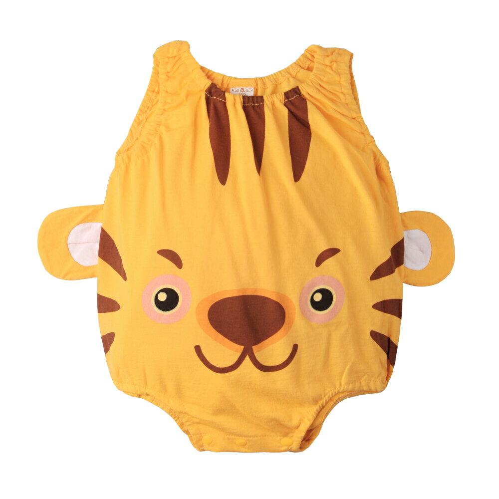 Augelute Baby 可愛動物款 無袖連身衣 41271 4