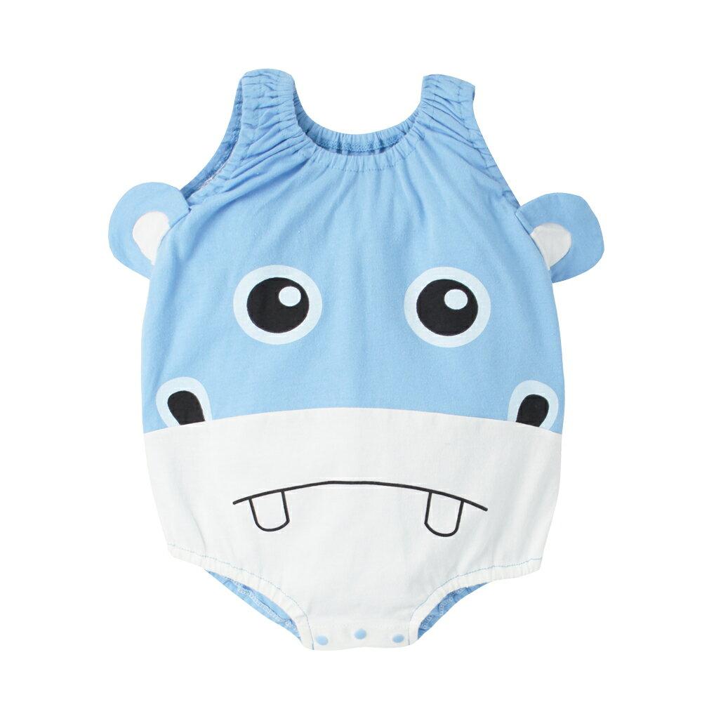 Augelute Baby 可愛動物款 無袖連身衣 41271 7