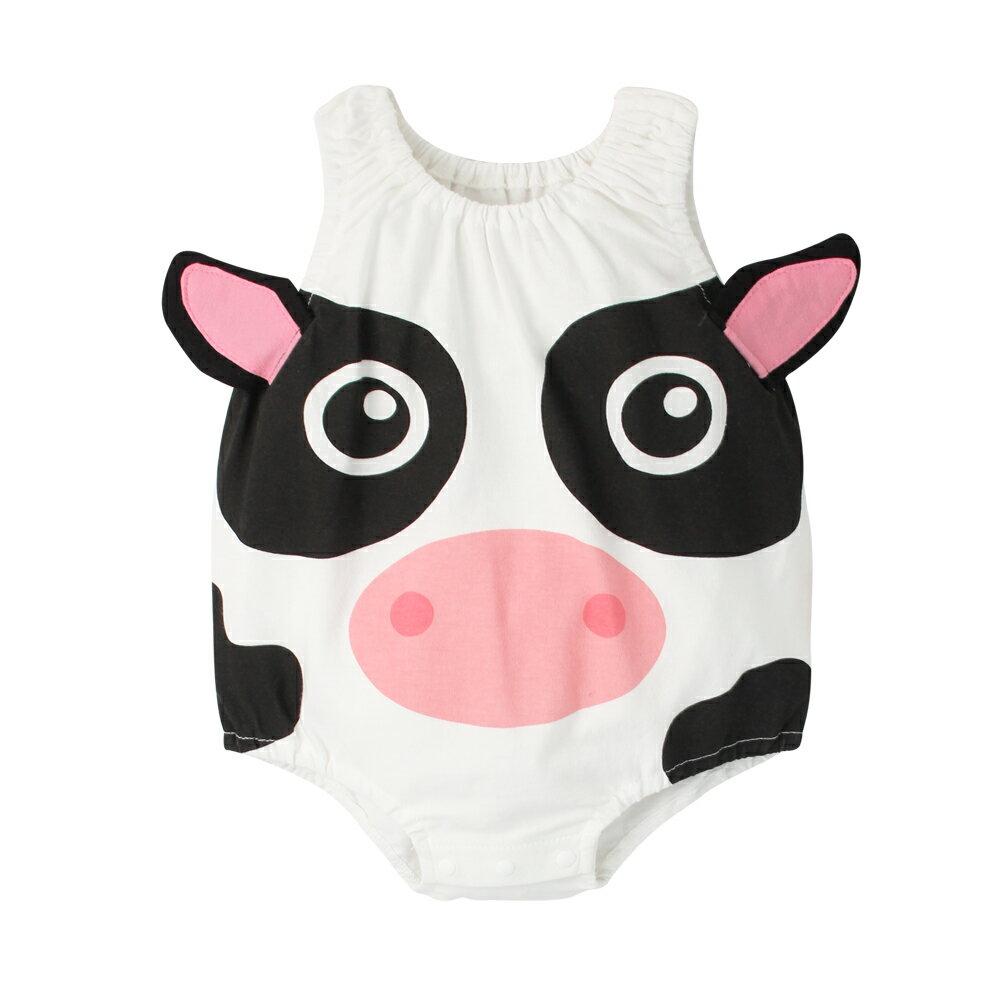 Augelute Baby 可愛動物款 無袖連身衣 41271 8