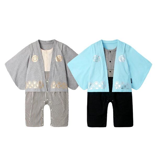 baby童衣:Augelute日式和服長袖連身衣70065