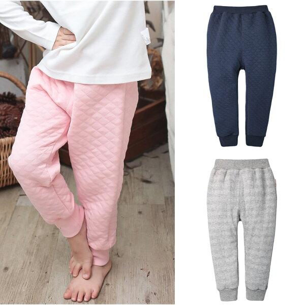 baby童衣:Augelute空氣棉束口長褲女童褲70078