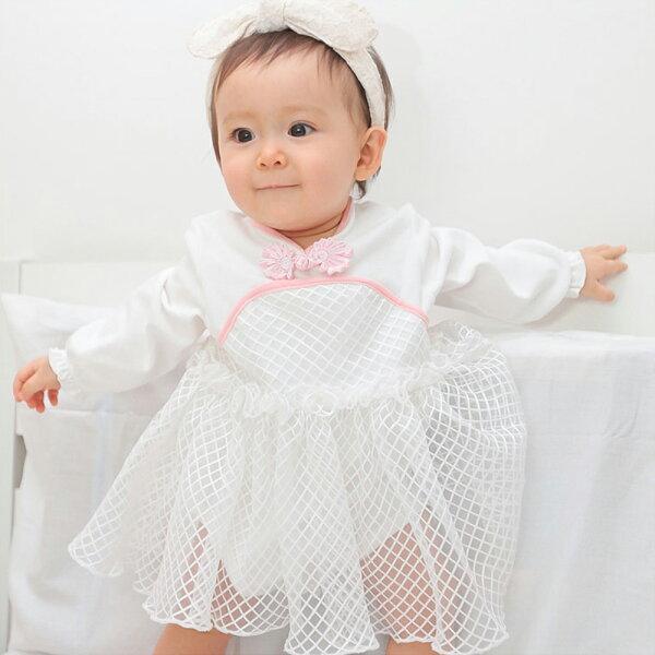 baby童衣:包屁裙中國風紗紗包屁衣女寶寶70127