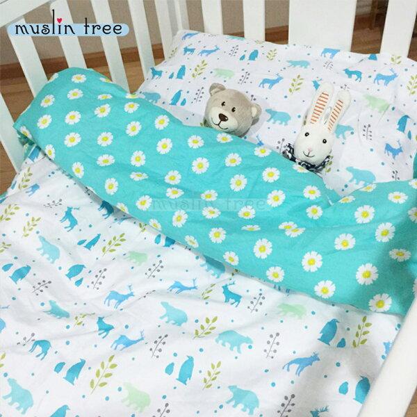 嬰兒床包三件組兒童床品全棉三件套嬰兒床單嬰兒被套嬰兒枕套88003