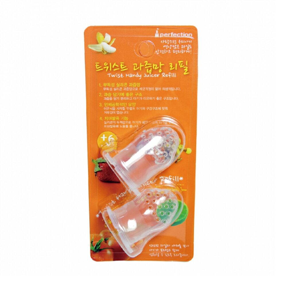 朴蜜兒 旋轉水果棒 矽膠替換頭2入 HRA073A
