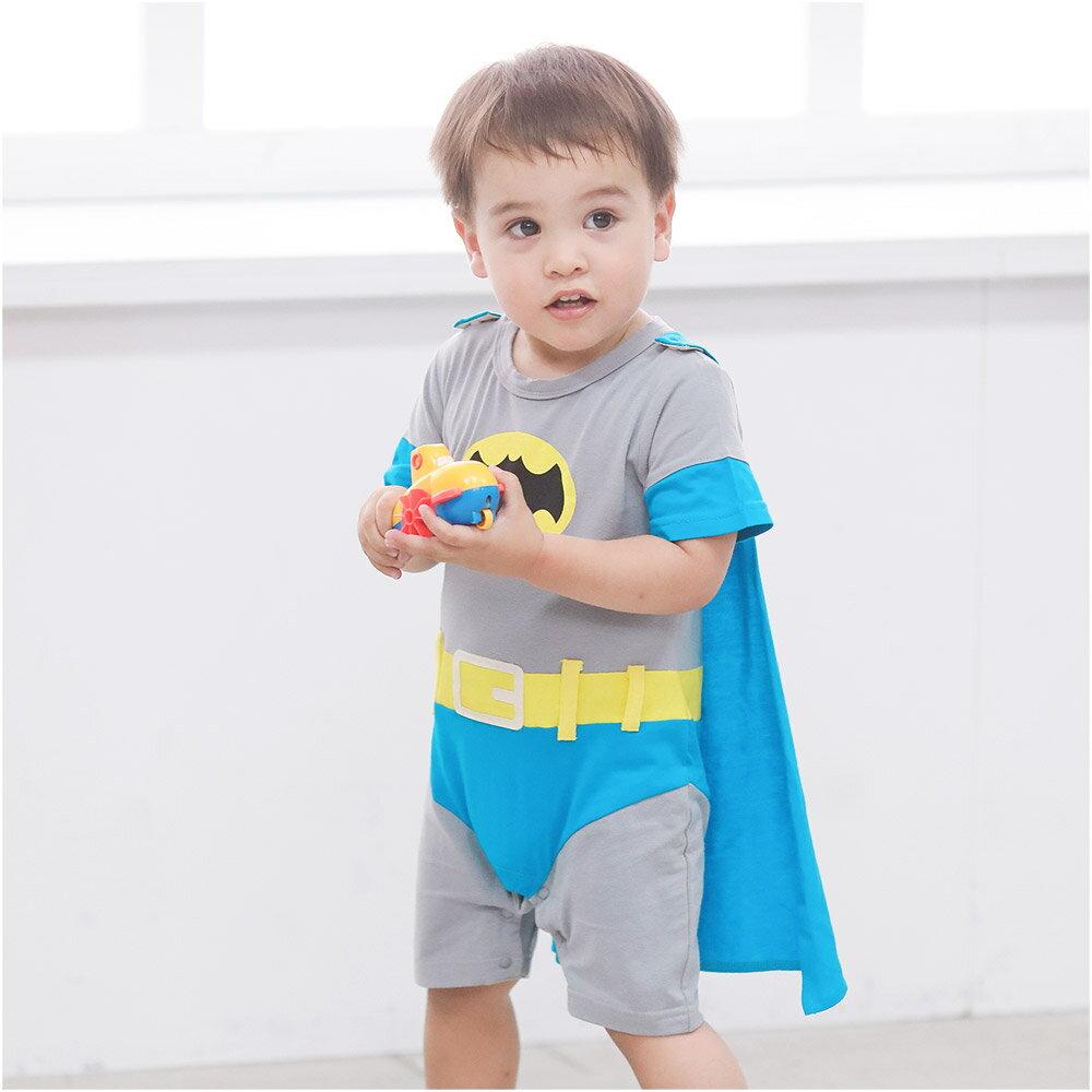 Augelute Baby 蝙蝠俠造型披風連身衣 32007