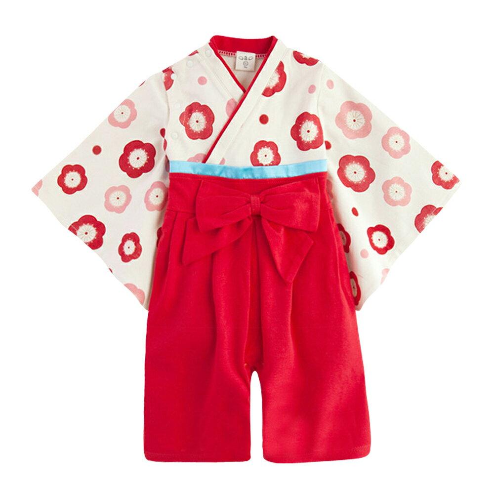 連身衣 日式 和服 造型服 女寶寶 爬服 哈衣 扮演服 派對 Augelute Baby 37301 2