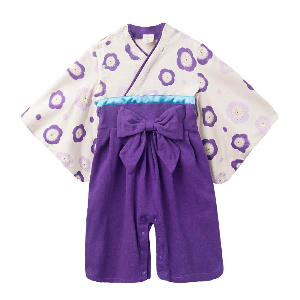 連身衣 日式 和服 造型服 女寶寶 爬服 哈衣 扮演服 派對 Augelute Baby 37301 3