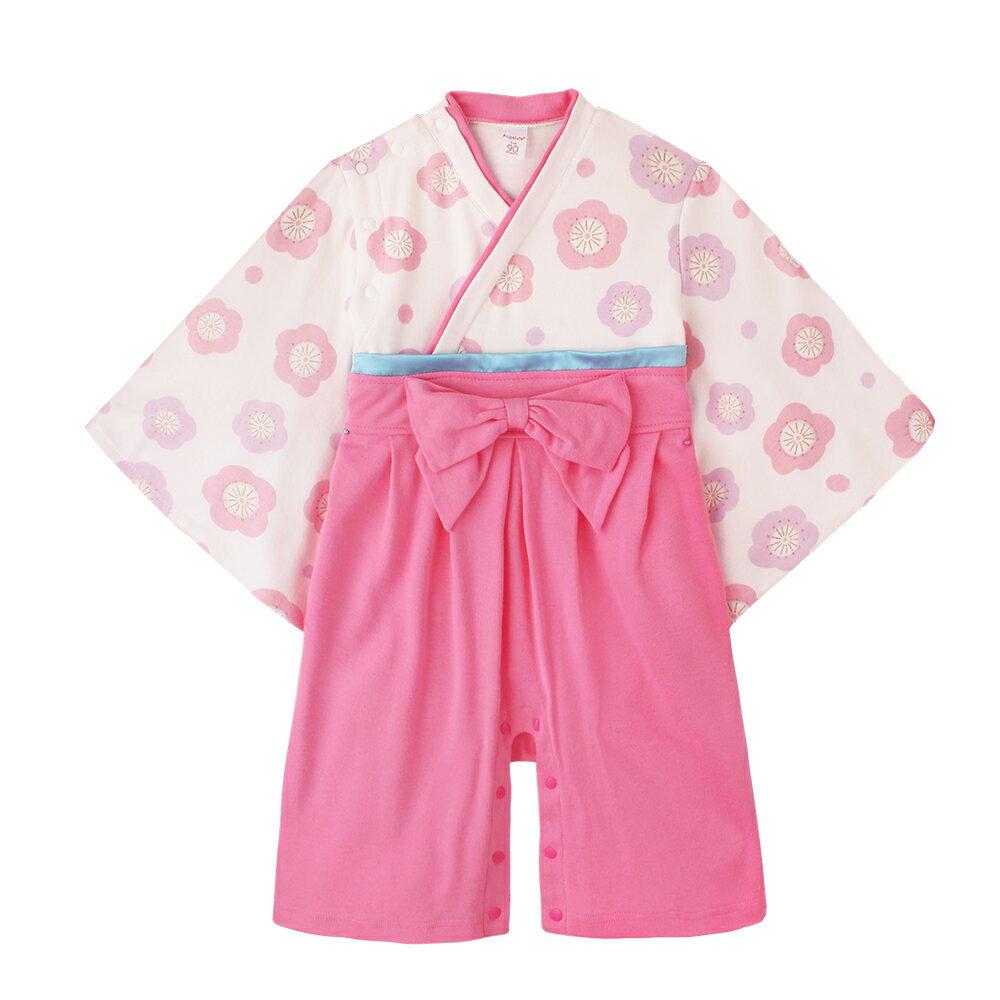 連身衣 日式 和服 造型服 女寶寶 爬服 哈衣 扮演服 派對 Augelute Baby 37301 4