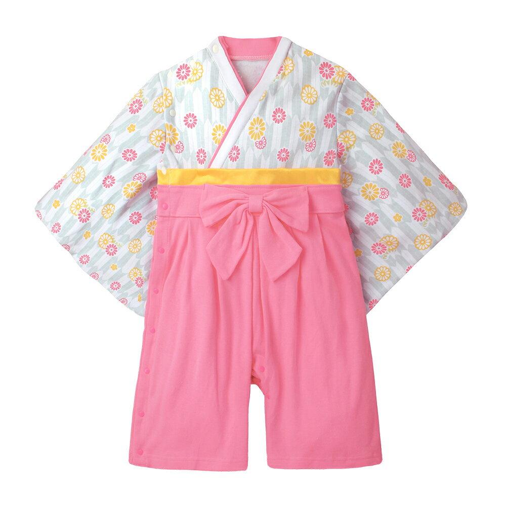 連身衣 日式 和服 造型服 女寶寶 爬服 哈衣 扮演服 派對 Augelute Baby 37301 5