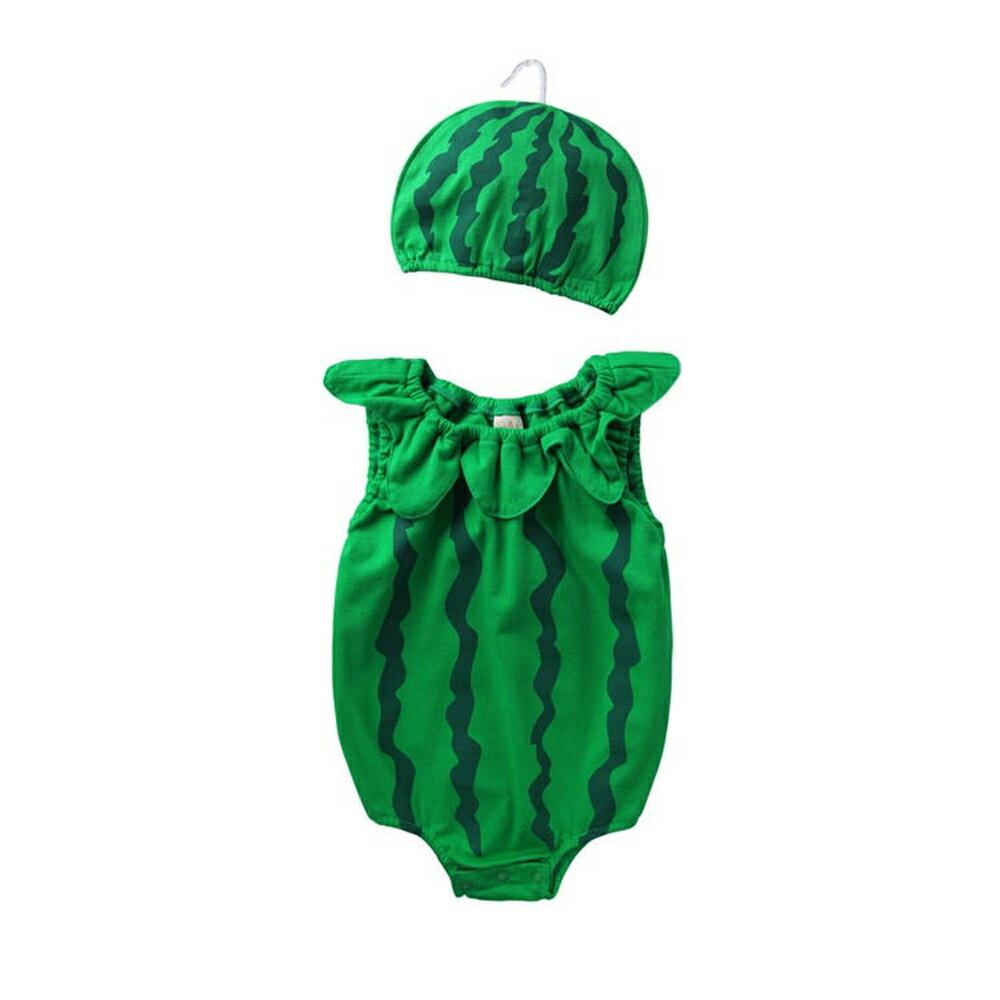 Augelute Baby 水果造型連身衣套裝 附帽子 51015 90066(好窩生活節) 4