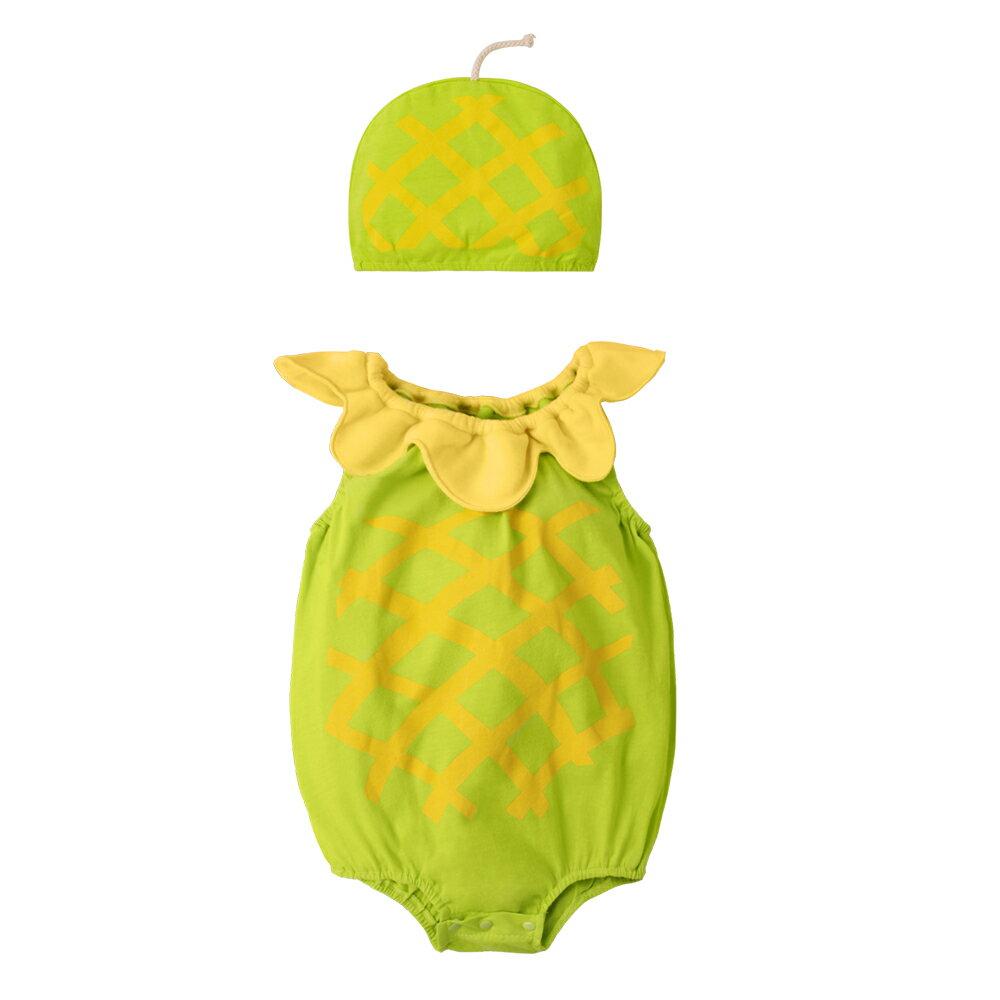 Augelute Baby 水果造型連身衣套裝 附帽子 51015 90066(好窩生活節) 5