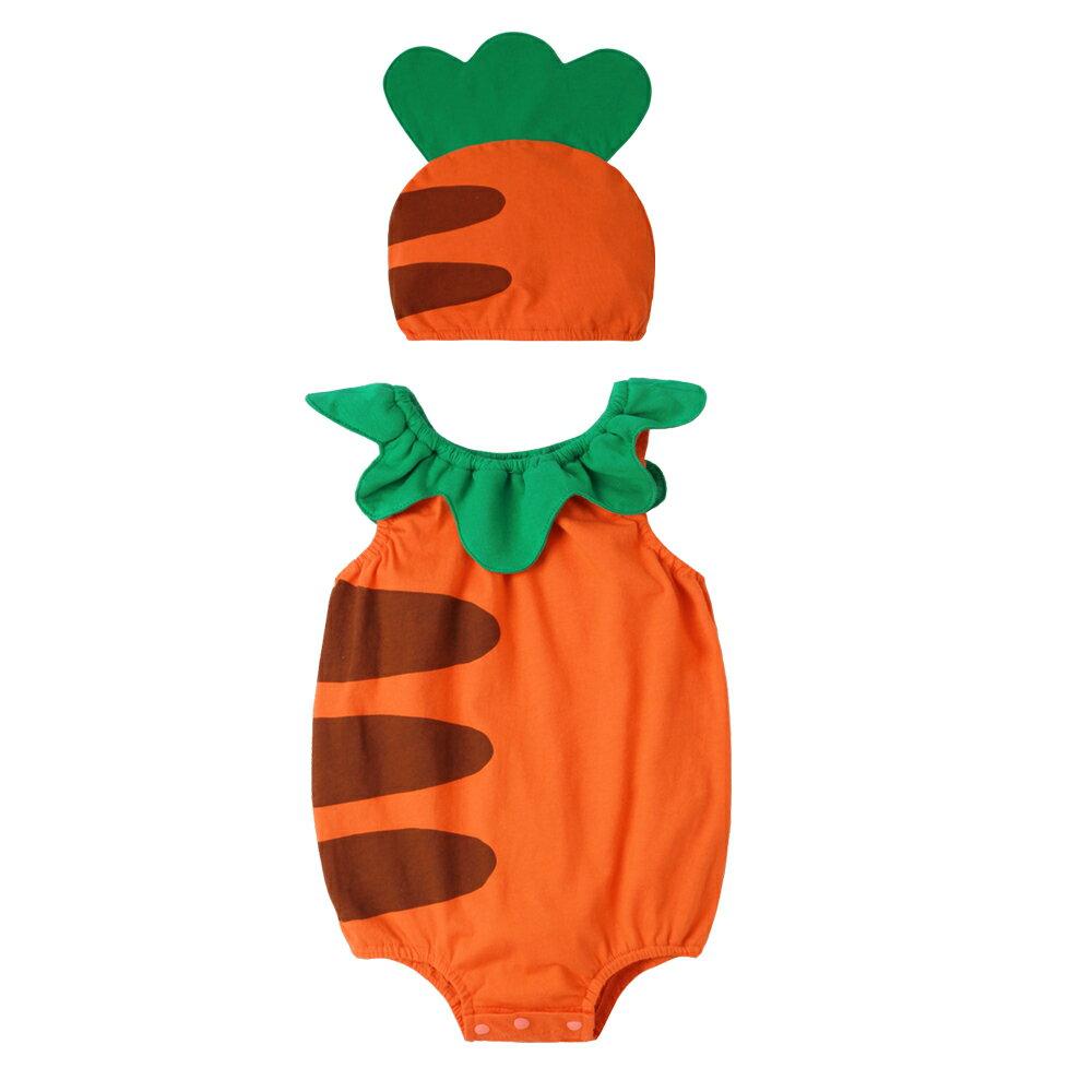 Augelute Baby 水果造型連身衣套裝 附帽子 51015 90066(好窩生活節) 6