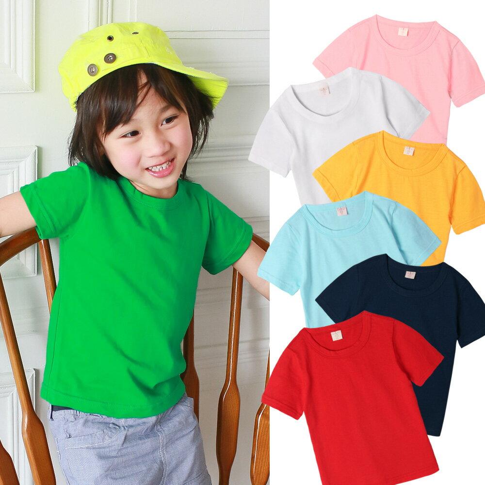 Augelute 兒童  短袖圓領純色棉T 51089 限購6件 0